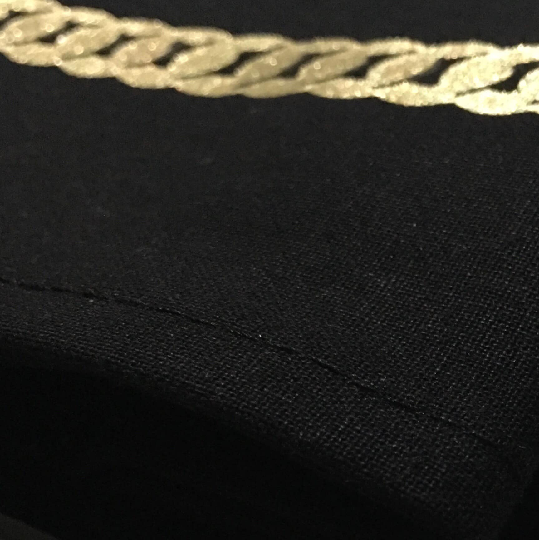 GOLD CHAIN NECKLACE BANDANA