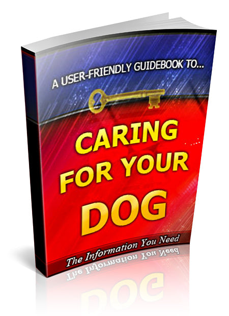 """Caring For Your Dog"" eBook Digital Download - WhagSag"