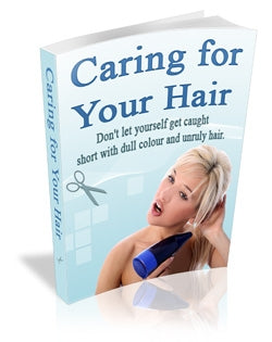 """Caring For Your Hair"" eBook Digital Download - WhagSag"