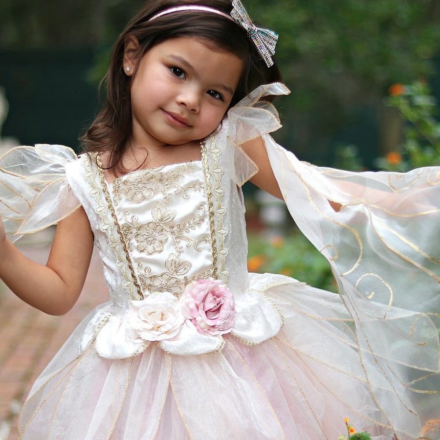 Golden Rose Fairy Dress - Great Pretenders