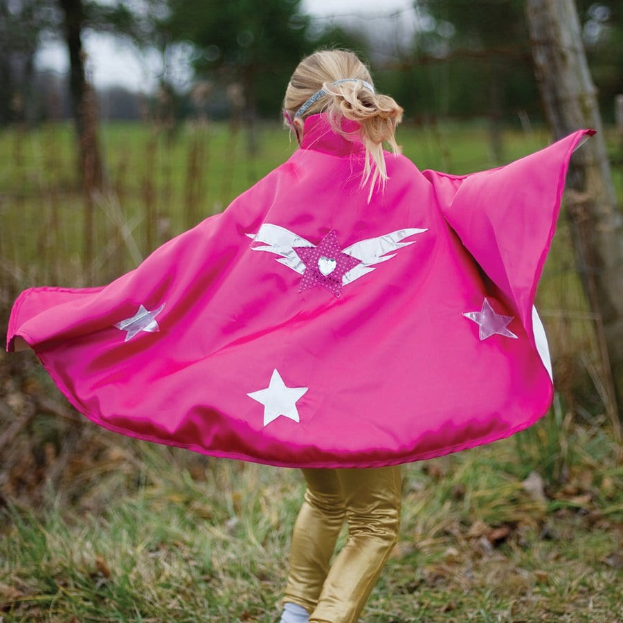 Reversible Pink Super Hero Set - Great Pretenders