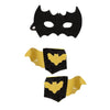 Bat Cape Set with Mask and Cuffs - Great Pretenders