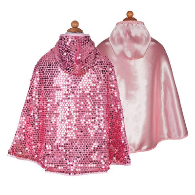 Pink Sequins Sparkle Cape - Great Pretenders