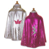 Pink and Silver Reversible Wonder Cape - Great Pretenders