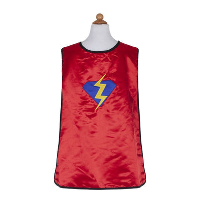 Reversible Superhero Bat Tunic with cape and mask - Great Pretenders