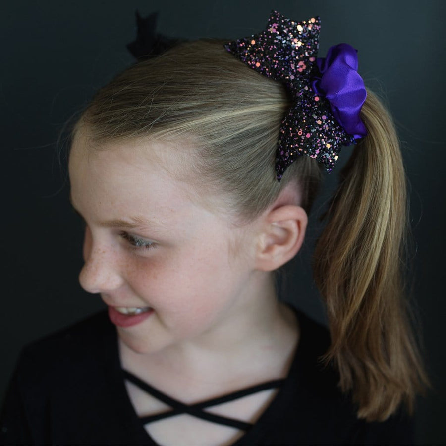 Halloween Scrunchies Bat/Spider, 2pcs