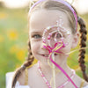 Pink & Gold Fairy Princess Wand - Great Pretenders