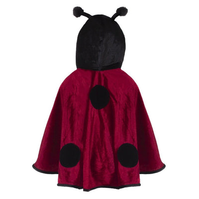 Toddler Red Lady Bug Cape - Great Pretenders