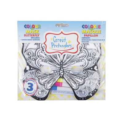 Colour-A-Mask Butterfly - Great Pretenders