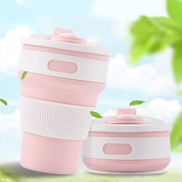 Sipsy™ - Drinks On The Go, coffee thermos, thermal cup, coffee tumbler, travel cup, coffee mug with lid, silicone beverages cup, reusable cup, portable cup, foldable cup, folding cup, pocket cup, stainless steel mug, silicone cup, no leakage travel cup, best coffee tumbler, best travel cup, silicone mug anti-scalding.