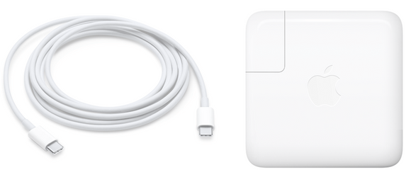 New MacBook Pro charger USB-C