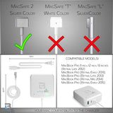 USED/LIKENEW MacBook Pro Charger 60W Magsafe 2 T-tip Connector Late 2012 up to mid 2016 White