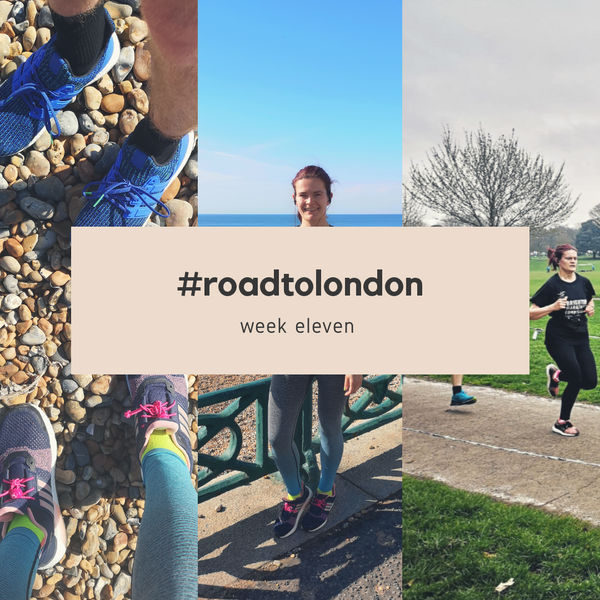 London Marathon: Training week 11