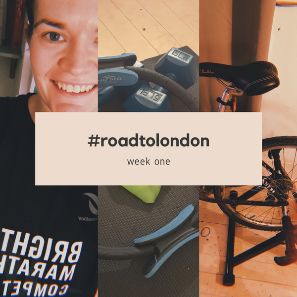 London Marathon: Training week one