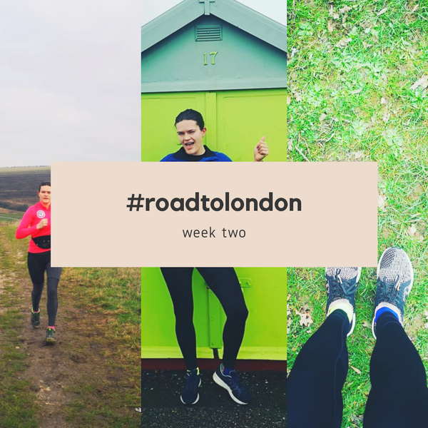 London Marathon: Training week two