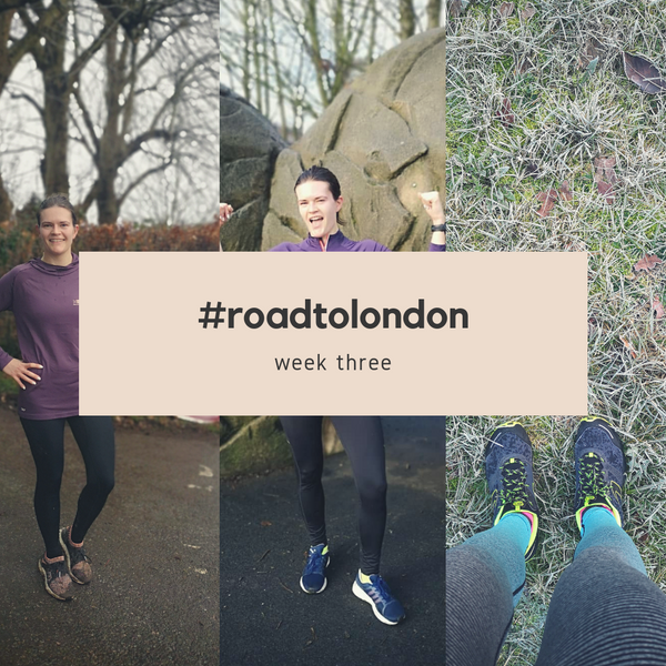 London Marathon: Training week three