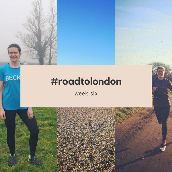 London Marathon: Training week six