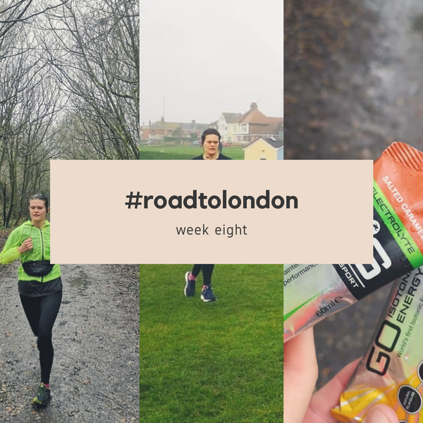 London Marathon: Training week eight