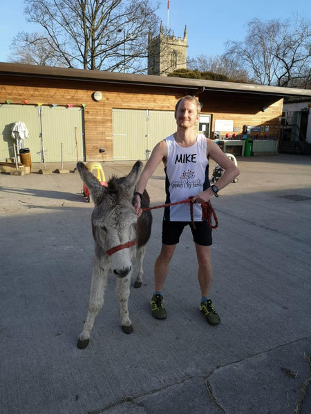 London Marathon running for Stepney City Farm: introducing Mike!