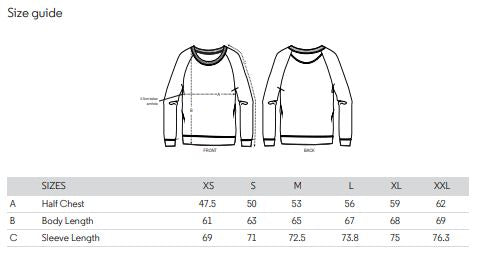 Women's Sweater Size Guide
