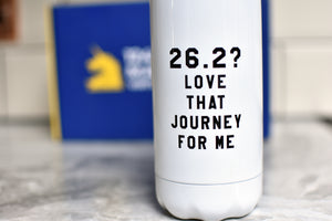 26.2? Love that Journey for Me Water Bottle