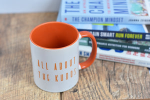 All About the Kudos Mug - Track and Fit Club