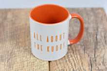 Load image into Gallery viewer, All About the Kudos Mug - Track and Fit Club