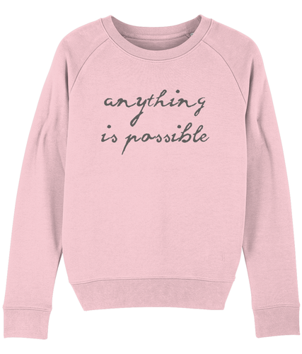 Anything is Possible Sweater - Track and Fit Club
