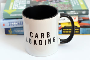 Carb Loading Running Cycling Mug - Track and Fit Club