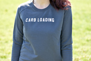 Carb Loading Sweater Grey - Track and Fit Club