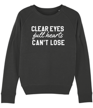Load image into Gallery viewer, Clear Eyes Full Hearts Can't Lose Sweater - Track and Fit Club