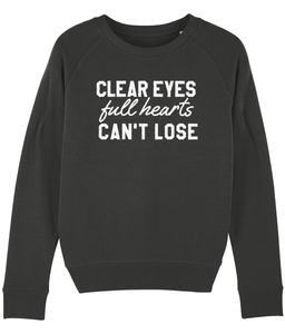 Clear Eyes Full Hearts Can't Lose Sweater - Track and Fit Club