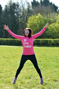 Do Epic Things Sweater - Track and Fit Club