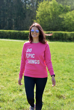 Load image into Gallery viewer, Do Epic Things Sweater - Track and Fit Club