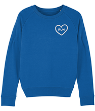 Load image into Gallery viewer, Embroidered Run Heart Sweater