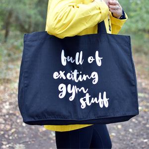 Full of Exciting Gym Stuff Big Bag