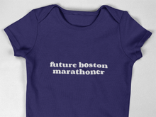 Load image into Gallery viewer, Future Boston Marathoner Babygrow