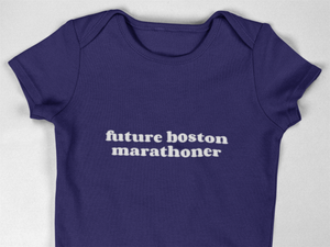 Future Boston Marathoner Babygrow
