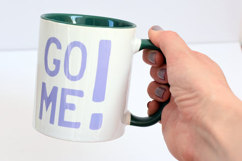 Go Me Motivational Mug - Track and Fit Club