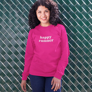 Happy Runner Sweater