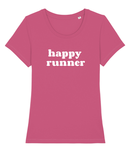 Happy Runner Tshirt - Track and Fit Club