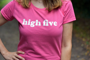 High Five Tshirt - Track and Fit Club