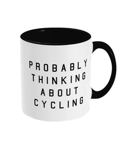 Probably thinking about Cycling Mug - Track and Fit Club