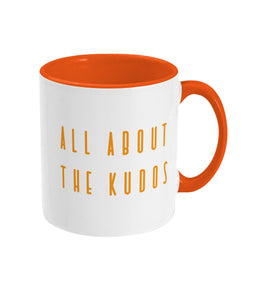 All About the Kudos Strava Running Cycling Mug - Track and Fit Club