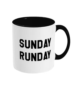 Sunday Runday Running Mug - Track and Fit Club