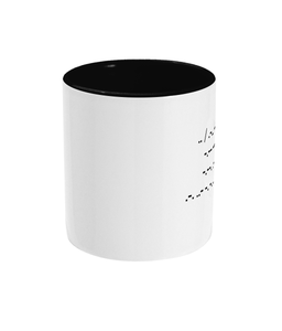 I Love You (And Running) Morse Code Mug - Track and Fit Club