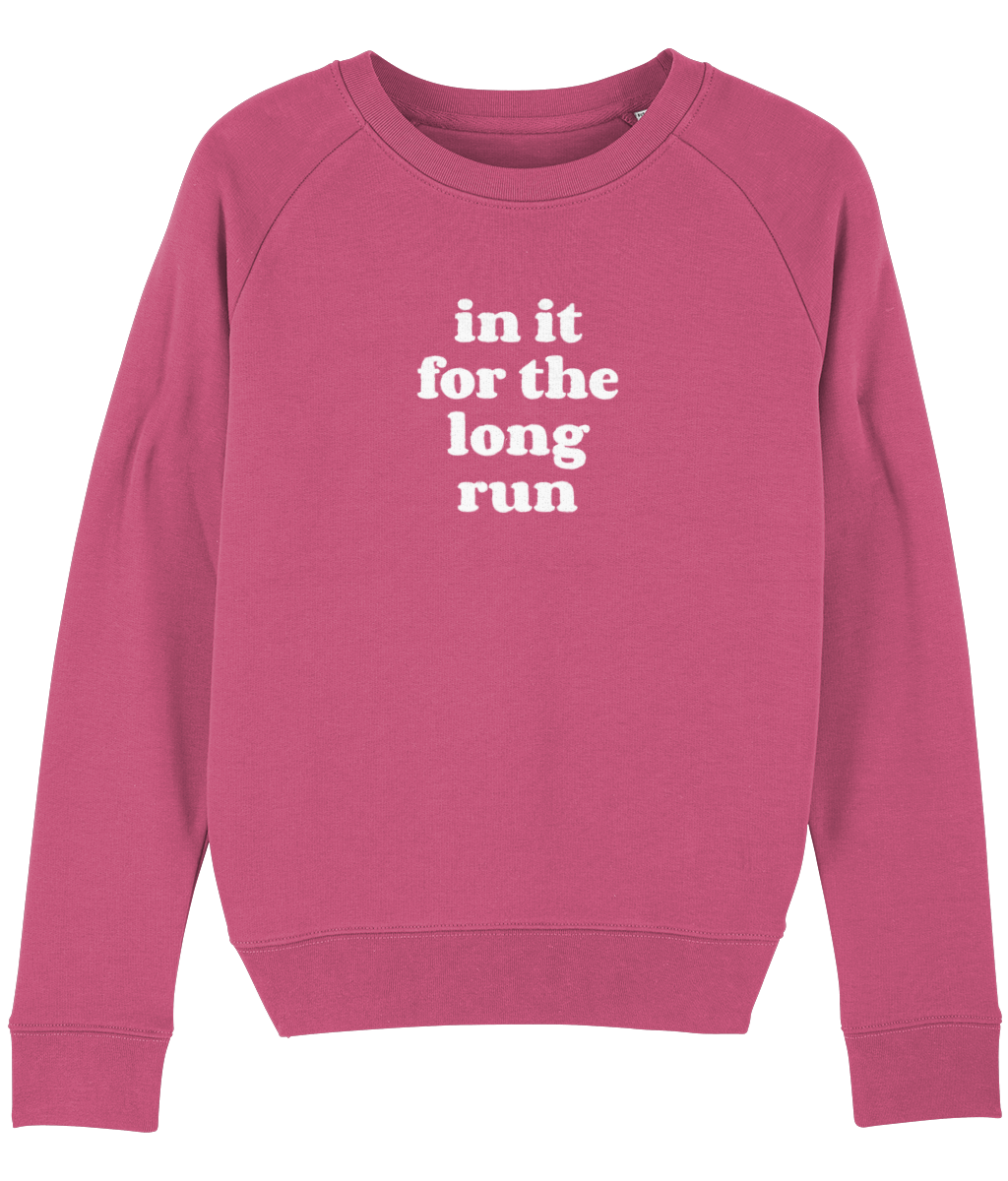 In it for the Long Run Sweater - Track and Fit Club