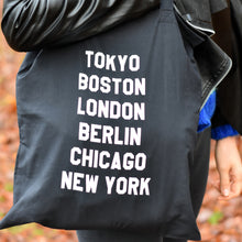 Load image into Gallery viewer, Marathon majors Running Tote Bag
