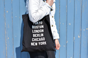 Marathon majors Running Tote Bag - Track and Fit Club