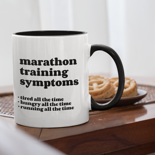 Marathon Training Symptoms Mug